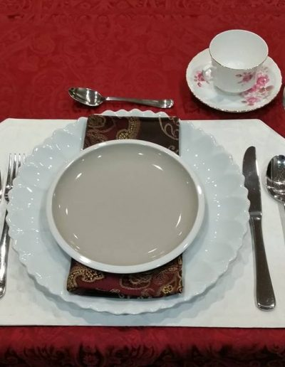 Single Table Setting